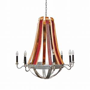Wine Barrel Chandelier Creative Lighting