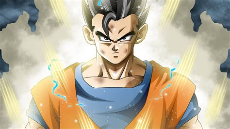 wallpaper ultimate gohan mystic gohan dragon ball super