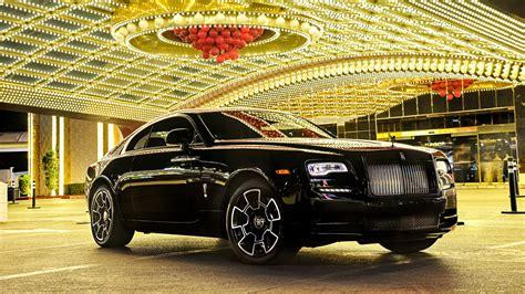 2017 Rolls Royce Wraith Black Badge Wallpaper Hd Car
