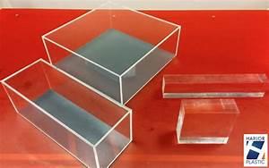 Cube Plastique Transparent : coffret plastique plv plexi presentoir harlor ~ Farleysfitness.com Idées de Décoration