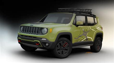 new jeep renegade 2015 jeep renegade receives mopar goodies for 2015 detroit
