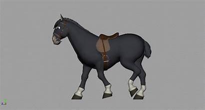 Animating Quads Horse Walk Jess Morris Stalk