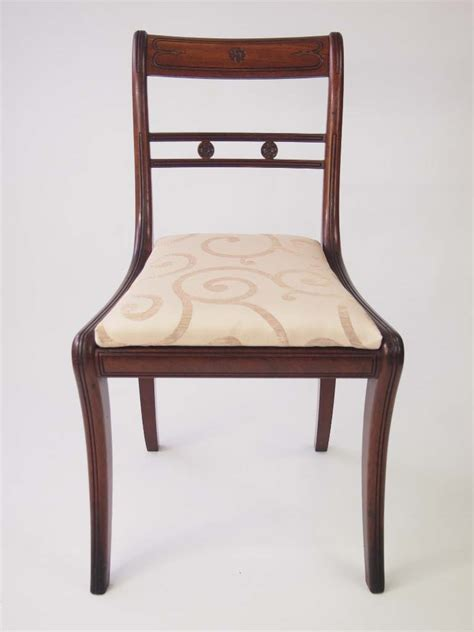 Dining Chairs For Sale by Set Of Six Antique Regency Mahogany Dining Chairs For Sale