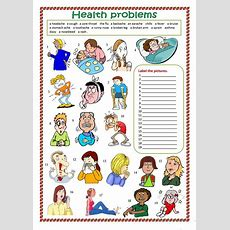Health Problems Worksheet  Free Esl Printable Worksheets Made By Teachers