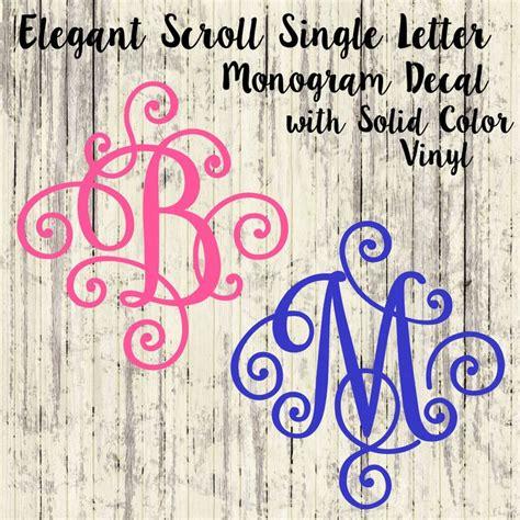 images  monograms  pinterest monogram decal yeti decals  vinyl decals