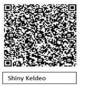 shiny pokemon qr codes