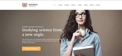 top  examples   education website design