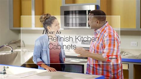 How To Refinish Kitchen Cabinets  Youtube