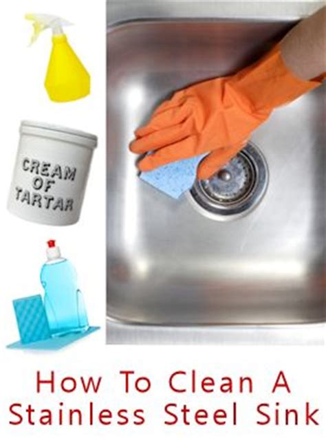 how to clean a stainless steel kitchen sink 276 best images about cleaning ideas home remedies on 9703