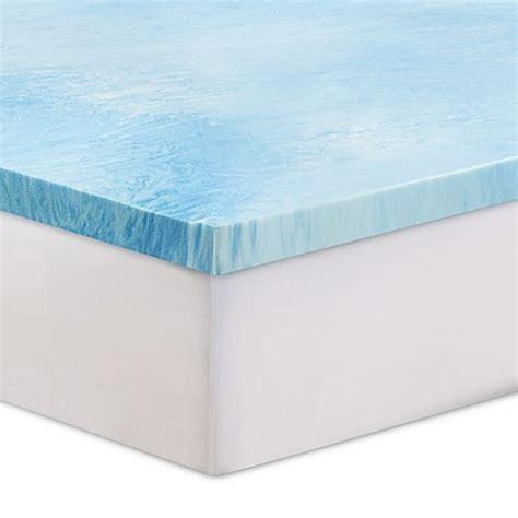 serta memory foam mattress topper serta 174 3 inch gel swirl memory foam mattress topper bed