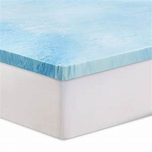 sertar 3 inch gel swirl memory foam mattress topper bed With bed bath and beyond cooling mattress topper
