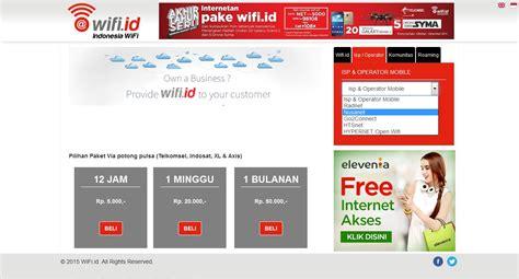 Dan, pastikan kamu sudah terhubung ke hotspot wifi id sebelumnya. MUDAHNYA AKSES @WIFI.ID DENGAN NUSANET WIFI ~ BLOG INTERNET