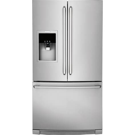 ewbsss electrolux french door refrigerator wice water dispenser