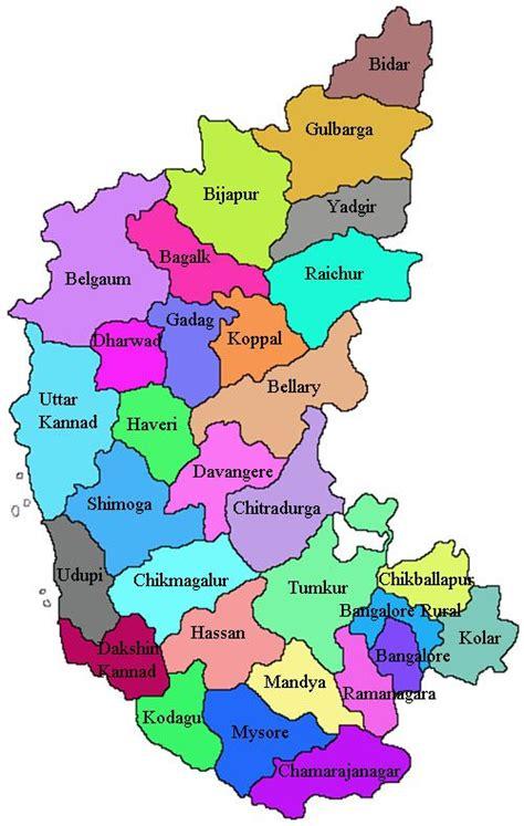 image result  karnataka map bb karnataka india map