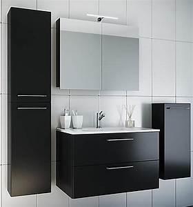 Waschplatz Komplett Set : vcm waschplatz badm bel badezimmer komplett set waschtisch waschbecken spiegel badset 5 tlg ~ Indierocktalk.com Haus und Dekorationen
