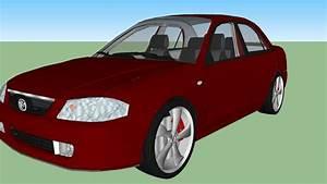 Mazda Allegro 2002 Rojo
