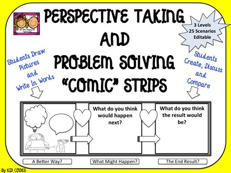 perspective taking and problem solving comic style