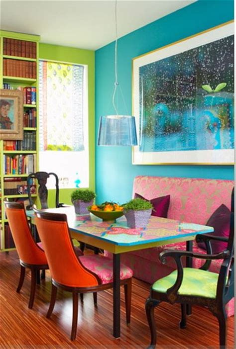 Colorful Rooms Design by 39 Bright And Colorful Dining Room Design Ideas Digsdigs