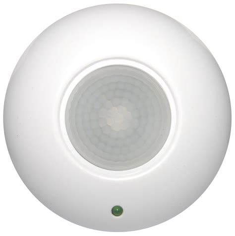 motion light with alarm surface mount pir ceiling occupancy motion sensor detector
