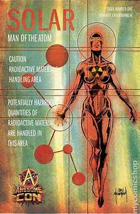 Solar Man Of The Atom  2014 Dynamite  Comic Books
