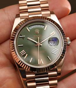 Prices for Rolex Day-Date 40 watches prices for Montre Rolex Day-Date 40 : Platine 228206