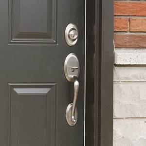 Serrure A Code Porte Exterieure : installer une poignee ou une serrure 1 rona ~ Dailycaller-alerts.com Idées de Décoration