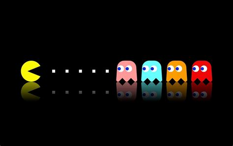 pacman background pacman wallpapers wallpaper cave