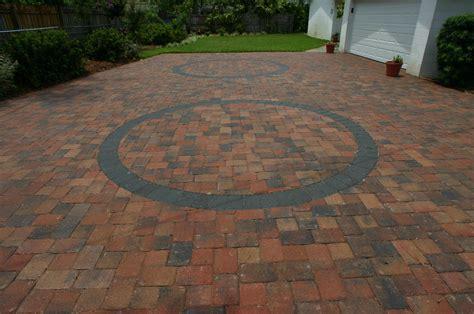 brick paver driveway pavers cost  square foot paver