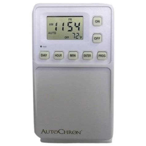 swe autochron wireless wall switch timer automatic light
