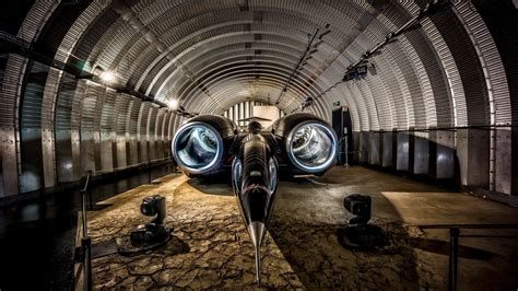 vehicle car turbines hangar jet car garages hdr