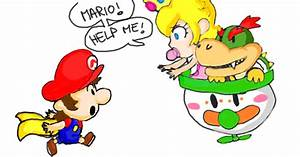 Baby Mario chasing Baby Bowser by DaisyDrawer on DeviantArt