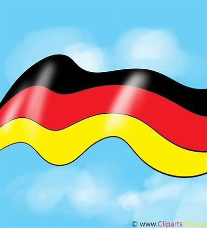 Flag Germany Clipart Animationen Flaga Duitsland Vlag