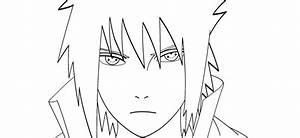 Sasuke Uchiha lineart by Kotoamakatsumi on DeviantArt