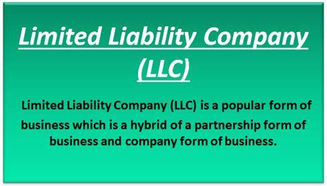 limited liability company llc advantages disadvantages