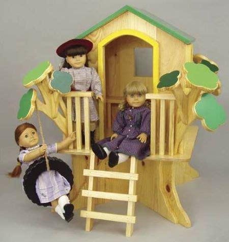 doll tree house woodworking plan woodworkersworkshop