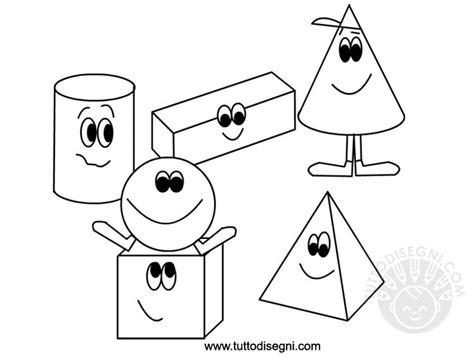 figure geometriche solide da ritagliare figure geometriche solide da colorare tuttodisegni