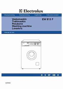 Electrolux Ew 813 F Washing Machine Download Manual For
