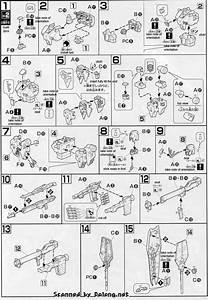 Hg Rx-93 Nu Gundam English Manual  U0026 Color Guide