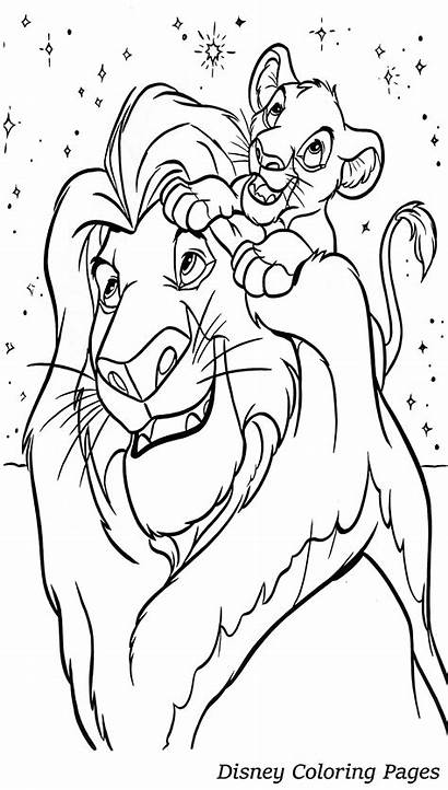 Disney Pages Coloring Pdf Colouring Printable Adults