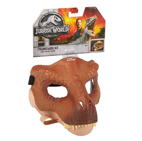Amazon.com: JURASSIC WORLD TYRANNOSAURUS REX Mask: Mattel