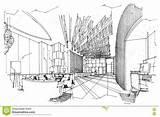 Lobby sketch template