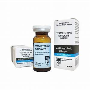 Testosterone Cypionate - Hilma Biocare - 250mg    Ml