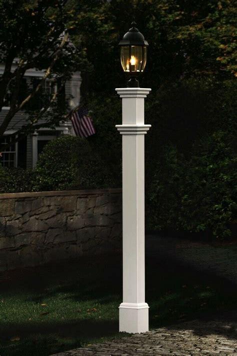 decorative vinyl outdoor  portsmouth lamp post