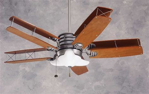 airplane ceiling fan with light baby exit
