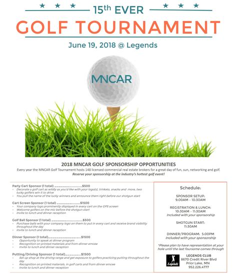 Golf insurance is often ignored by golfers as just another expense. Minnesota Commercial Real Estate :: Golf Tournament Sponsorship