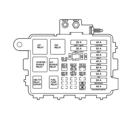 99 Venture Fuse Box by 2002 Chevy Silverado Parts Diagram Relay Block