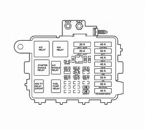 2002 Chevy Silverado Parts Diagram Relay Block