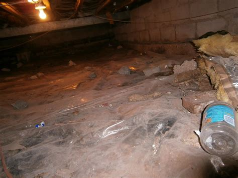 covering basement crawl space floor with plastic vapor barrier connecticut basement systems crawl space repair photo album cleanspace installation in