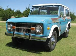 Don't Paint It: Well-Aged 1970 Ford Bronco Sport   Bring a Trailer