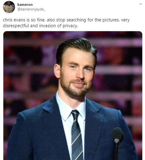 Chris Evans Breaks Silence After His Inappropriate Photo ...